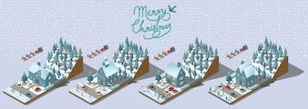 Conception de vecteur joyeux Noël