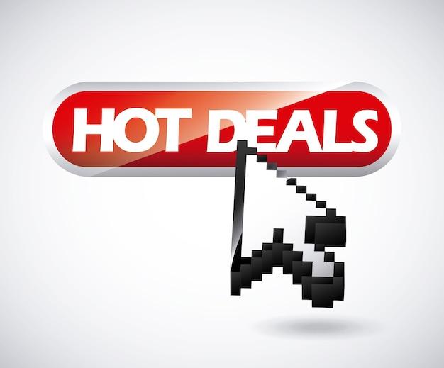 Conception de deal chaud