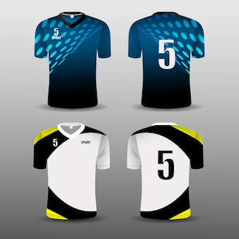 Conception de décors sport club de football.