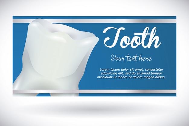 Conception dentaire, illustration vectorielle.