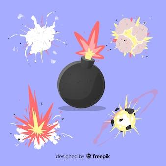 Conception de dessin animé de collection effet effet