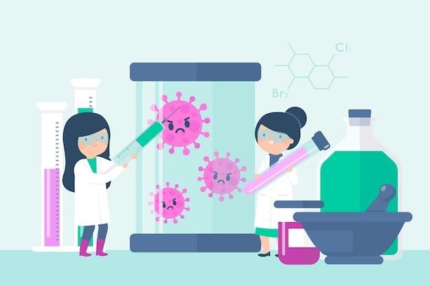 Conception de développement de vaccins