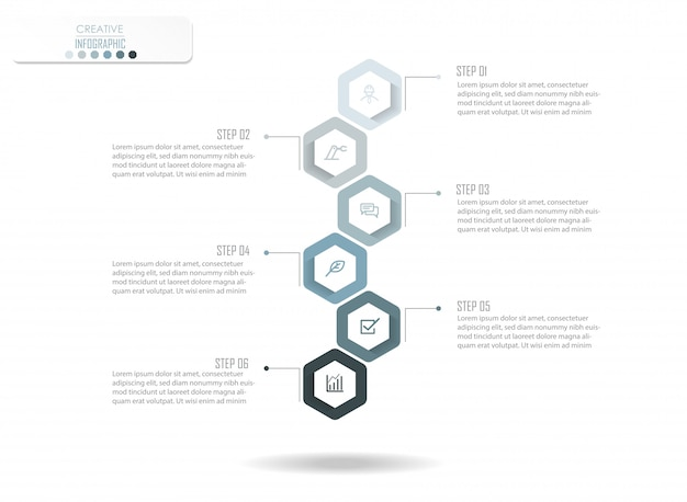 Conception de diagramme infographique