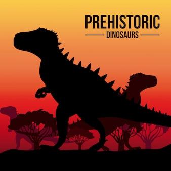 Conception de dinosaure