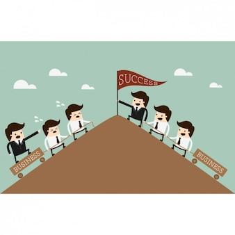 Conception de dirigeants d'entreprise