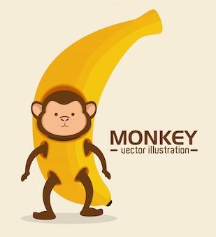 Conception drôle de singe