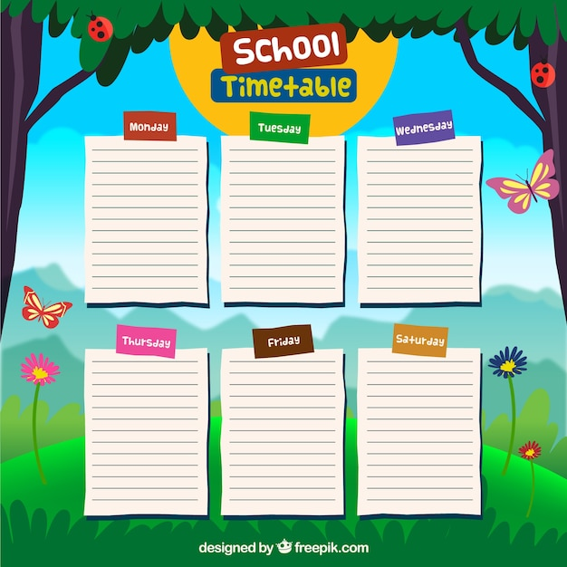 Conception du calendrier scolaire