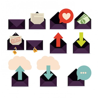 Conception du courrier