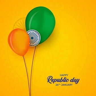 Conception du festival du jour de la république indienne