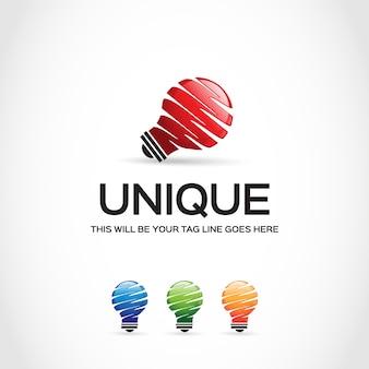 Conception du logo de l'ampoule
