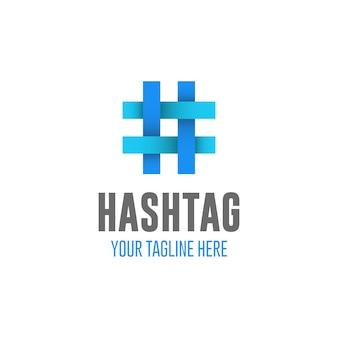Conception du logo hastag