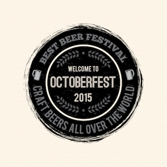 Conception du logo octoberfest