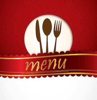 Conception du menu du restaurant