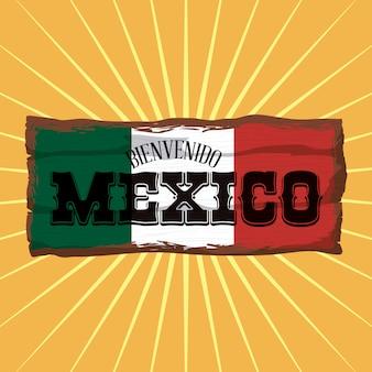 Conception du mexique.