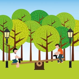 Conception du parc