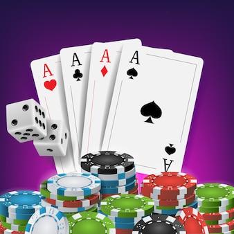 Conception du poker casino