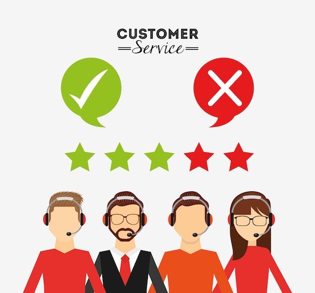 Conception du service client