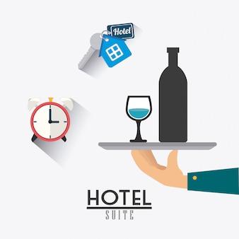 Conception du service hôtelier.