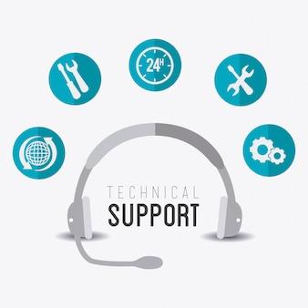 Conception du support technique.