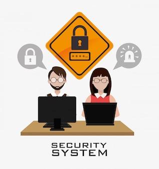 Conception du système de sécurité.