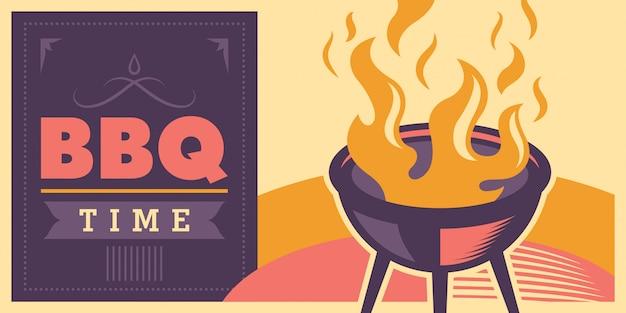 Conception du temps de barbecue