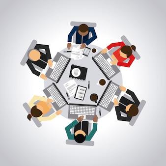 La conception du travail d'équipe