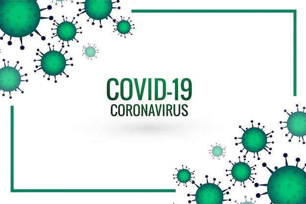 Conception du virus de la pandémie de coronavirus covid-19