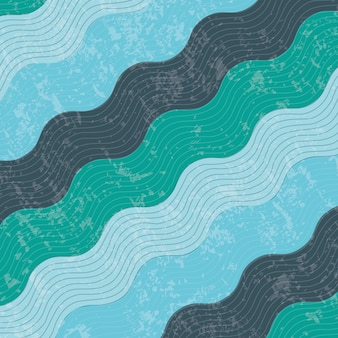 Conception de l'eau au cours de l'illustration vectorielle de fond modèle