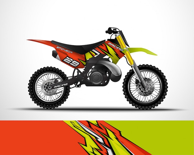 Conception d'écharpe de motocross