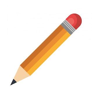 Conception d'écriture au crayon icône
