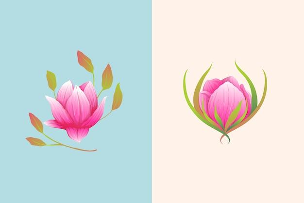 Conception élégante de minuscules fleurs pour des événements de mariage, de fête ou d'amour. petite composition rose.