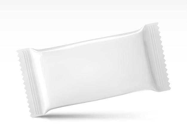 Conception d'emballage de collation vierge