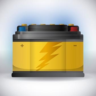 Conception énergétique de la batterie.