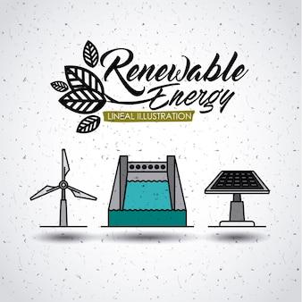 Conception d'énergie renouvelable