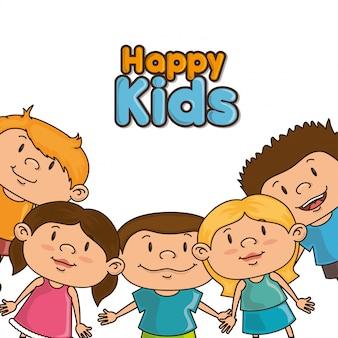 Conception d'enfants heureux