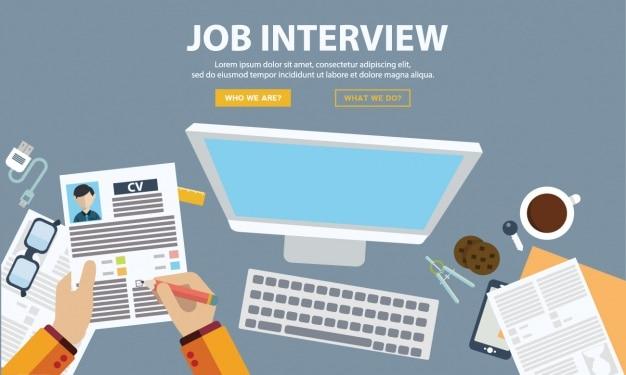 La conception de l'entrevue d'emploi
