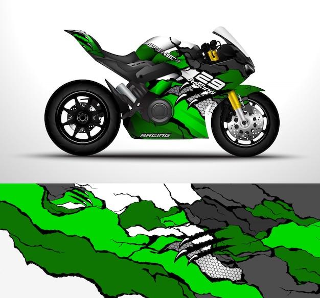 Conception d'enveloppe de moto