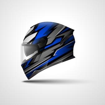 Conception d'enveloppe de sport de course de casque