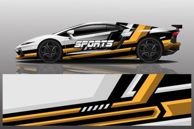 Conception d'enveloppe de voiture de sport