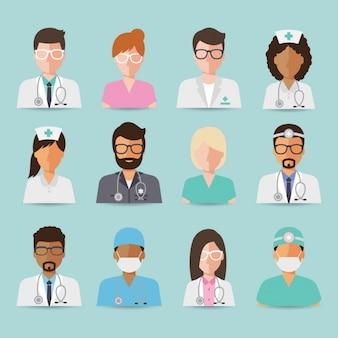 La conception de l'équipe médicale