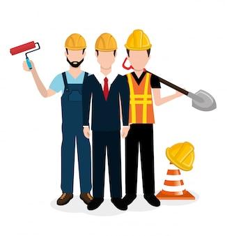 Conception d'équipement de construction