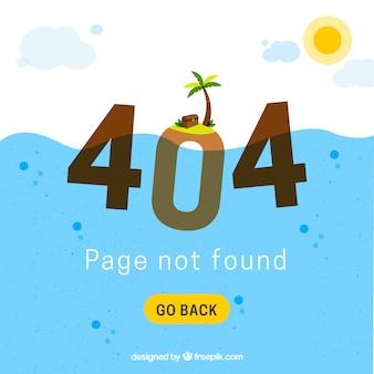 Conception d'erreur 404
