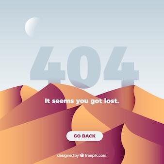 Conception d'erreur creative 404