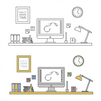 La conception de l'espace de travail