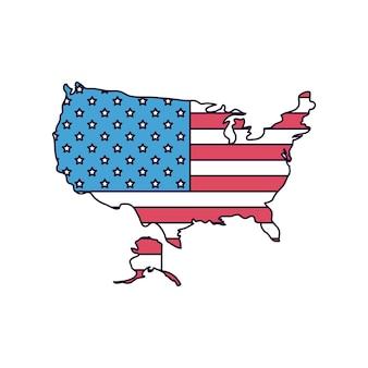 Conception des états-unis