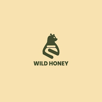 Conception d'étiquettes de miel. concept de produits à base de miel biologique, conception d'emballages.