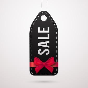 Conception d'étiquettes de vente vendredi noir.