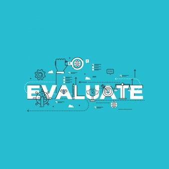 Conception de l'évaluation du travail