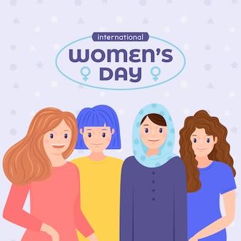 Conception d'événements pour la journée internationale de la femme