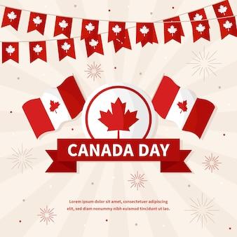 Conception de la fête du canada